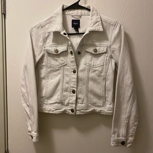 Kids Gap bleached jean jacket